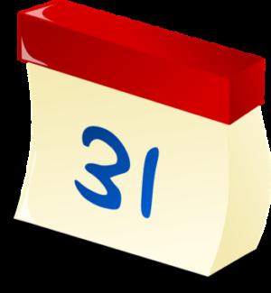 calendario - Retto scorretto