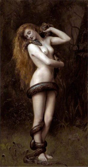 Lilith (1887) by John Collier